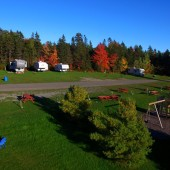 Oasis Motel and Campground: Our Campground